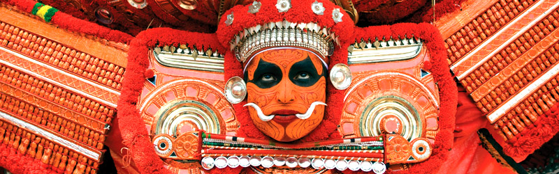 Südindien Theyyam Dance