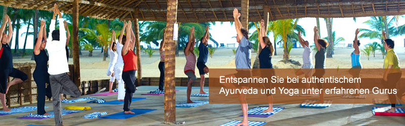 Nattika Beach Resort Yoga