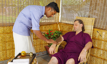 Sitaram Ayurveda Beach Retreat Ayurveda Behandlung