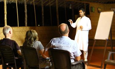 Sitaram Ayurveda Beach Retreat Ayurveda Vortrag