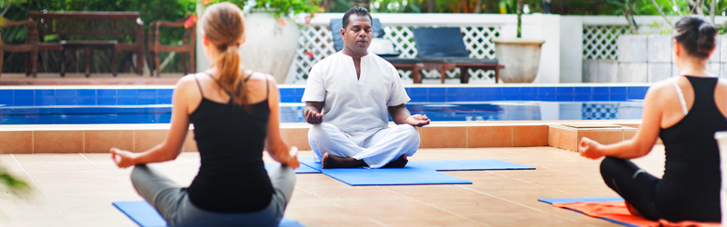 Surya Lanka Ayurveda Beach Resort Yoga