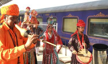 Deccan Odyssey Zugreise Indien