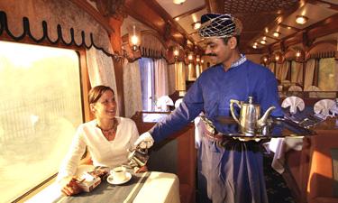 Deccan Odyssey Zugreise Restaurant