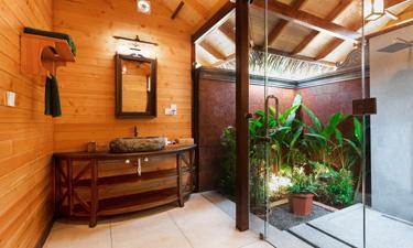 Sitaram Ayurveda Beach Retreat Premium Wooden Cottage