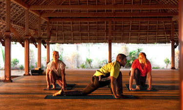 Sitaram Ayurveda Beach Retreat Yoga Stunde