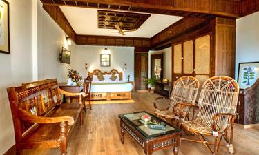 Zimmerkomplex im AyurSoma Ayurveda Resort
